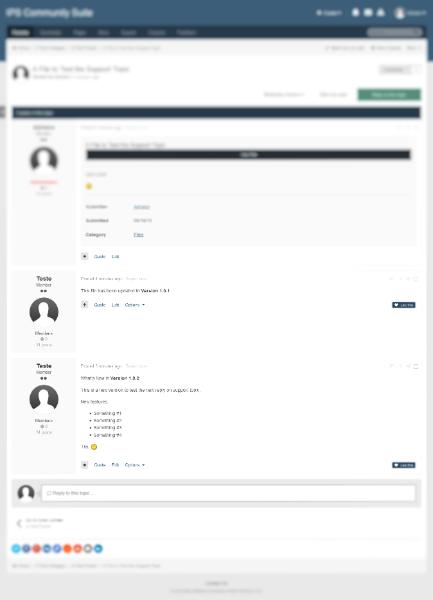 افزونه بروزرسانی نسخه فایل ها New Reply to Support Topic When Upload New Version