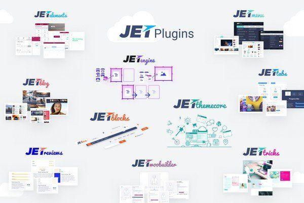 پکیج جامع افزونه های JET Elementor addons